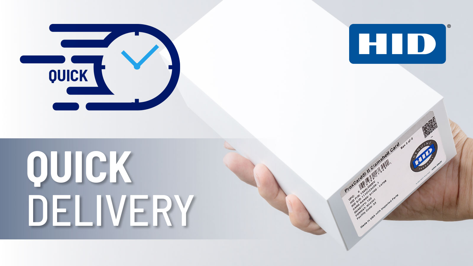 HID Access Cards - Quick Delivery
