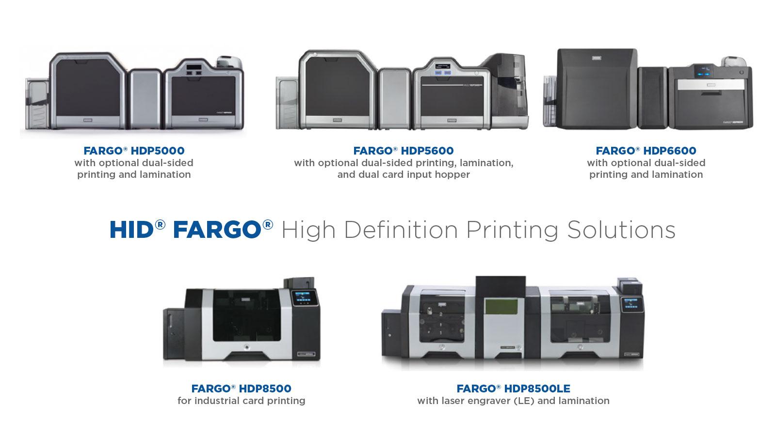 Fargo ID Card HDP Printers