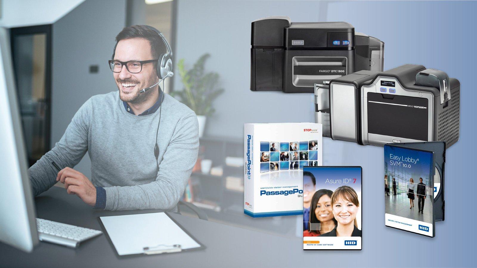 FARGO id card printer choose j. o'brien Phone Support
