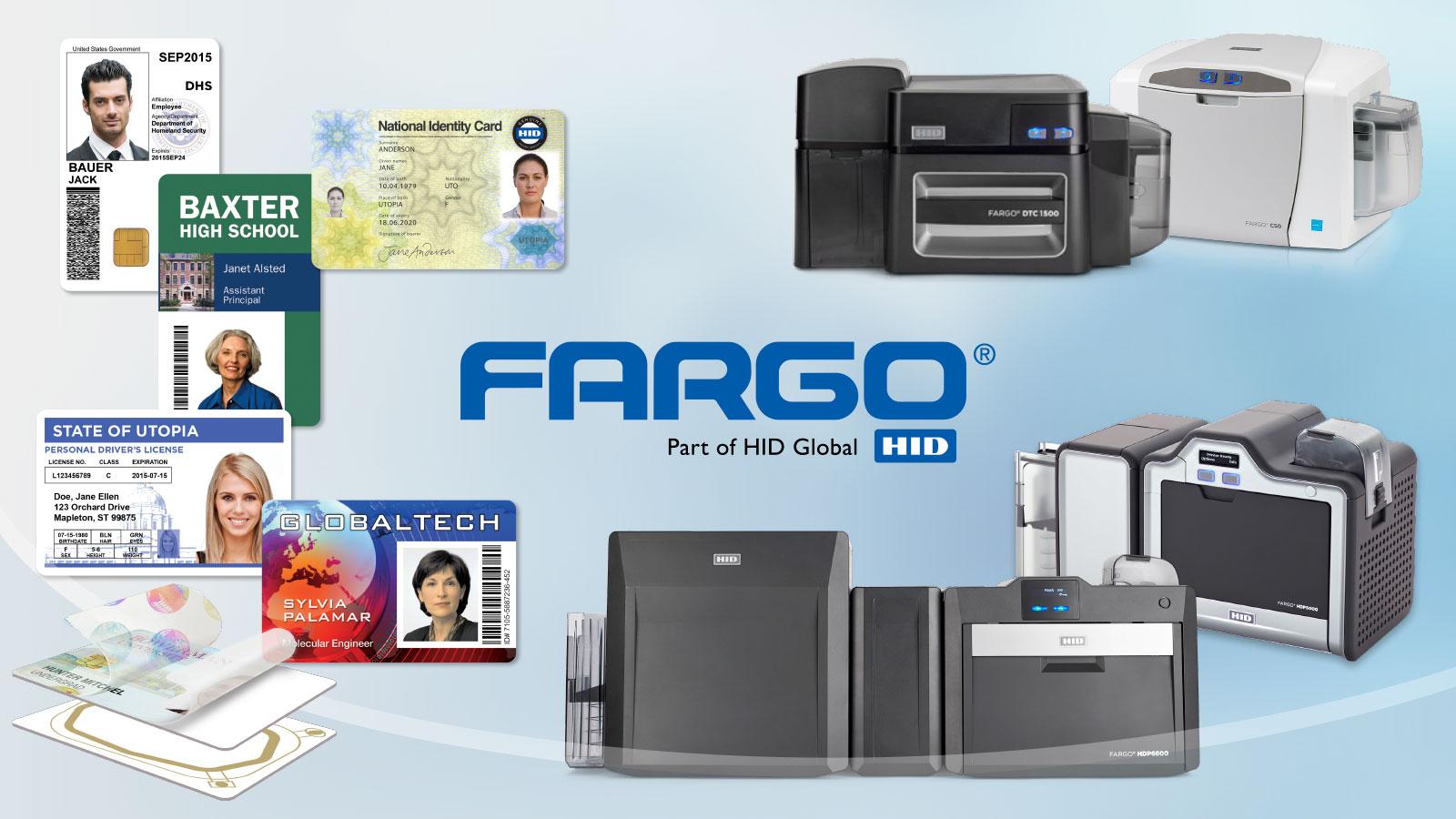 FARGO ID Card Printers J. O'Brien Your Dealer