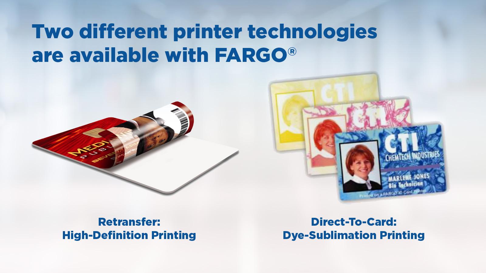 Fargo ID Card Printer Capabilties